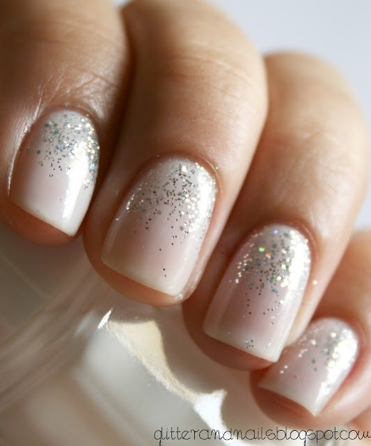 We love when bridal nails and nail art are combined to create totally  unique nail looks. Check out some of our favorite classic looks below! - Nail Art Makeup For Your Day Beauty