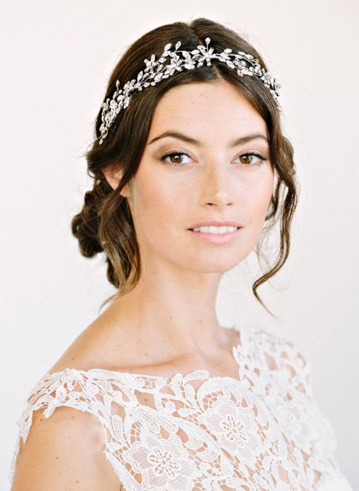 Beautiful Bridal Headbands   Makeup for Your Day Beauty