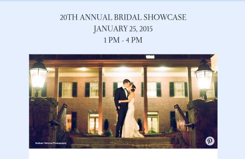 The Carolina Inn Bridal Showcase